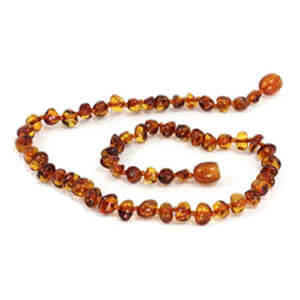 baby necklaces baltic amber Congac