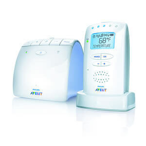 hire baby Monitor Avent temperature control