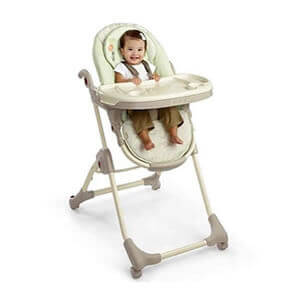 baby hire HIGHCHAIR Bright Starts