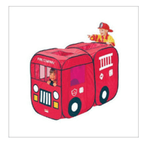 baby hire fire truck pop up tent