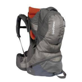baby hire Macpack backpack