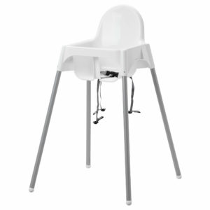 High Chair Ikea Antilope – No tray
